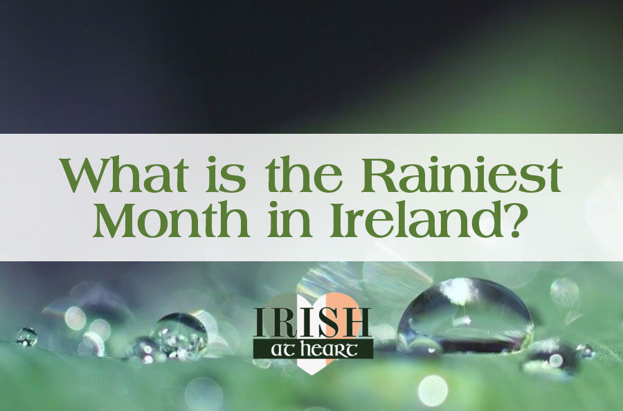 What is the Rainiest Month in Ireland?