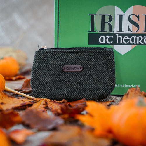Celtic Ore - Crafts Coin Purse - Tweed Green