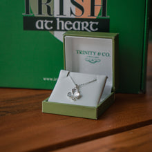 Load image into Gallery viewer, Trinity & Co. Shamrock Necklace Pendant