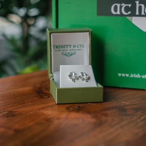 Trinity & Co. Shamrock Earrings