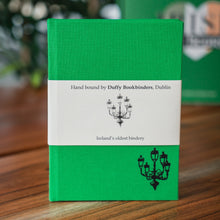 Load image into Gallery viewer, A6 Duffy Bookbinders Hand Bound Notebook - Dublin Green