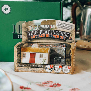 Irish Cottage Turf Peat Incense Burner