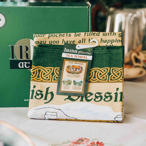 Irish Blessings Tea Towel