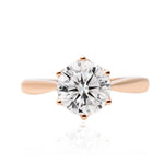 ROSIE • 3 carat Moissanite Engagement Ring  | Amour Collection
