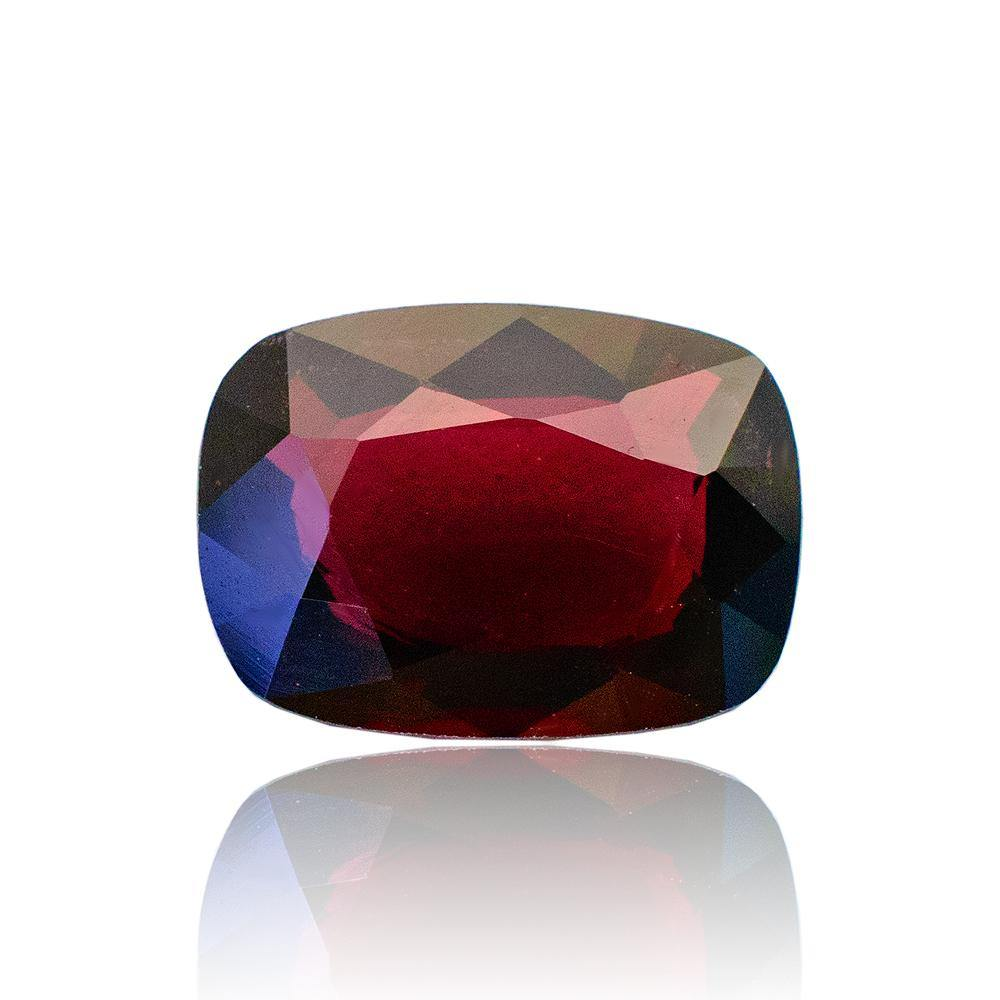 2.05 Carats Cushion Red Natural Spinel Gemstone 9.3 x 6.8 x 3.5mm - Modern Gem Jewelry