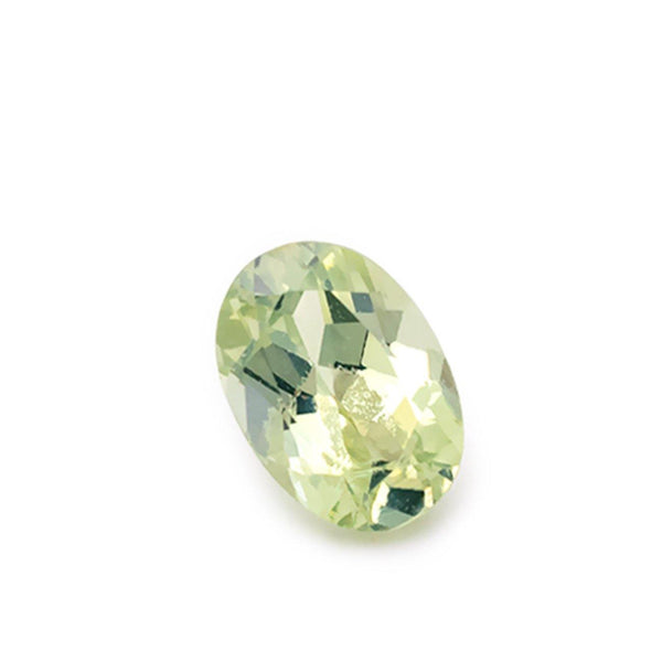 1.15ct Natural Chrysoberyl Green/Yellow Oval Cut Loose Gemstone - Modern Gem Jewelry