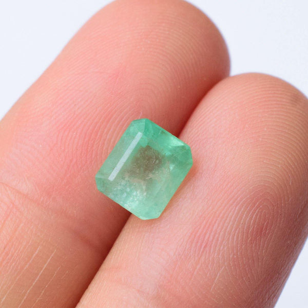 Low Grade Emerald Gemstone - Modern Gem Jewelry