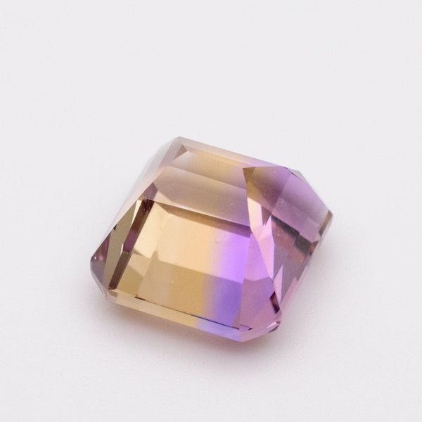 7.02 Carats Natural Ametrine Emerald Cut Loose Gemstone - Modern Gem Jewelry