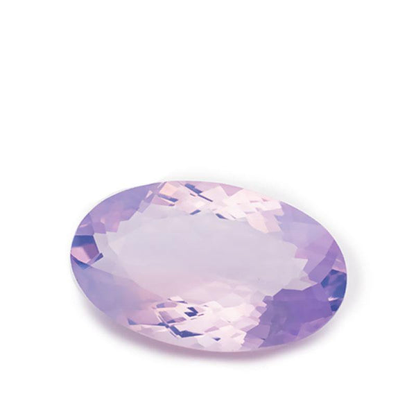 18 Carats Purple Natural Amethyst Oval Cut Loose Gemstone - Modern Gem Jewelry
