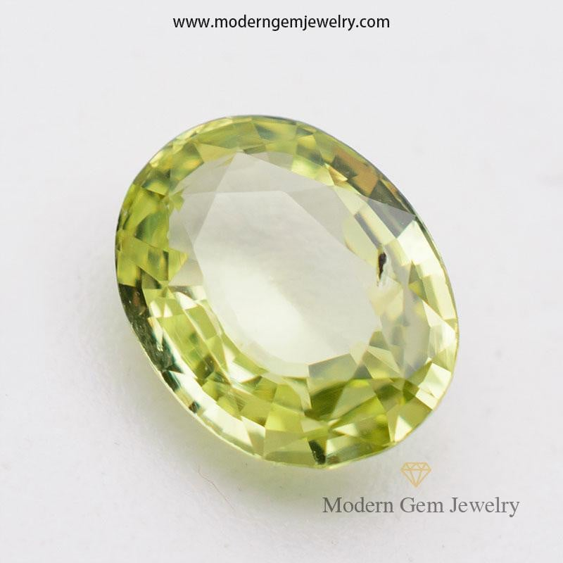 1.53 Carat Natural Loose Chrysoberyl Gemstone - Modern Gem Jewelry