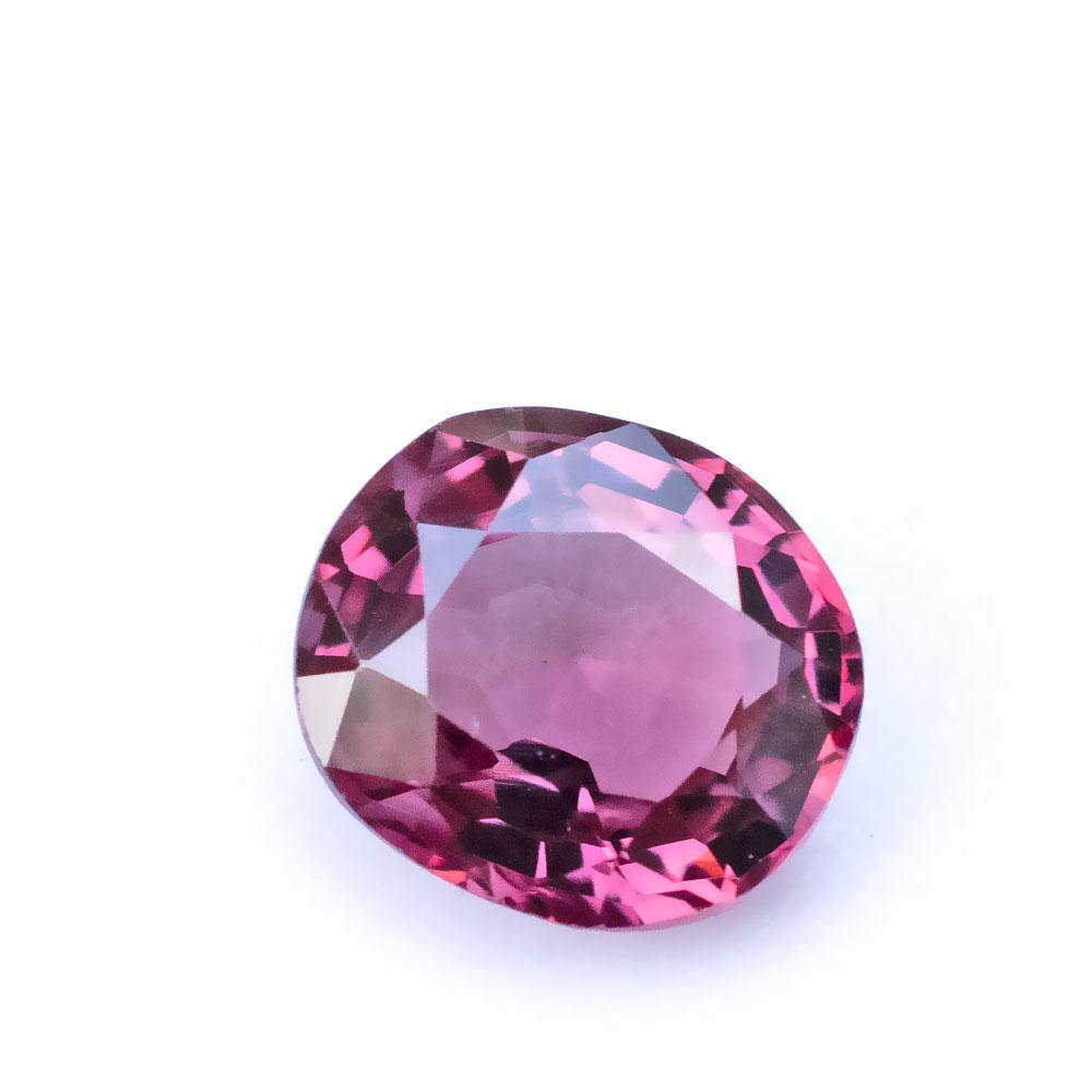 1.21 Carats  Purple Pink Natural Spinel Oval Cut | 6.8x6.1x3.68mm - Modern Gem Jewelry