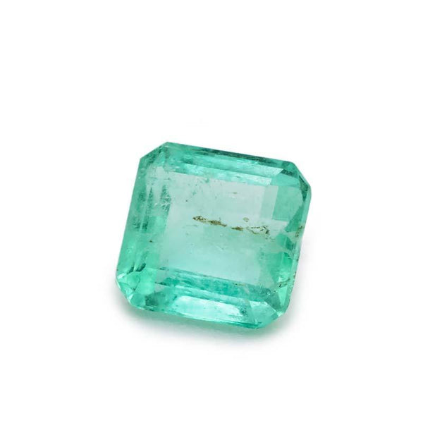1.09 Carat Natural Brazilian Emerald Loose Gemstone - Modern Gem Jewelry