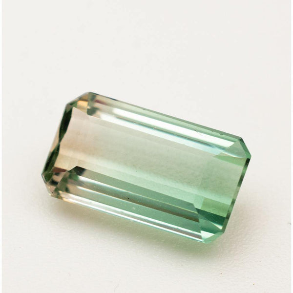 2.3 Carat Natural Bi-Color Tourmaline Gemstone | 10mm x 5.7mm