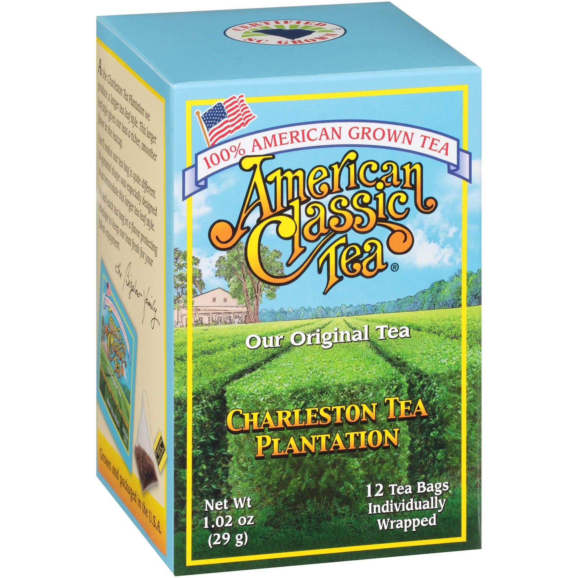 Charleston Plantation Tea Original American Classic Tea (100% American)-VIVA Scandinavia