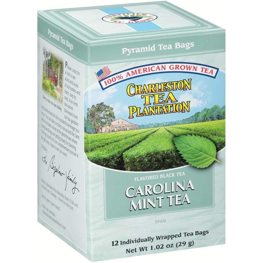Charleston Tea Plantation Carolina Mint Black Tea (100% American)-VIVA Scandinavia