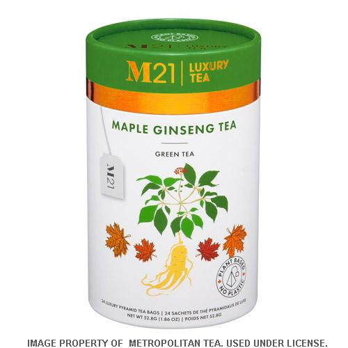 M21 GINSENG MAPLE GREEN TEA
