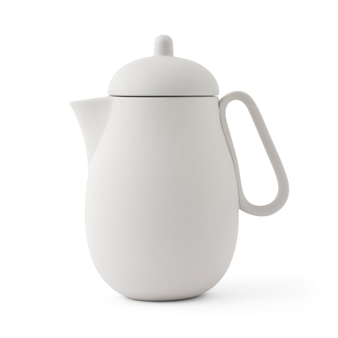 Nina™ Teapot - VIVA | Color=Light Gray