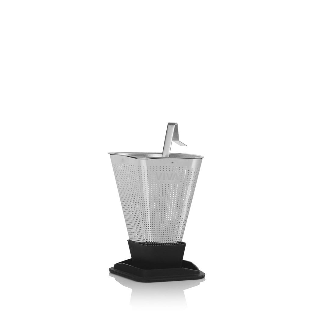 Infusion™ Tea Strainer - VIVA | Color=Black