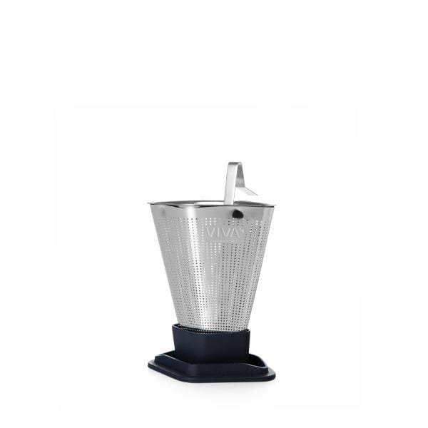 Infusion™ Tea Strainer - VIVA | Color=midnight blue