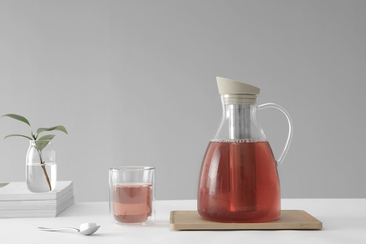 Infusion™ Iced Tea Carafe Large - VIVA | Color=Buttermilk