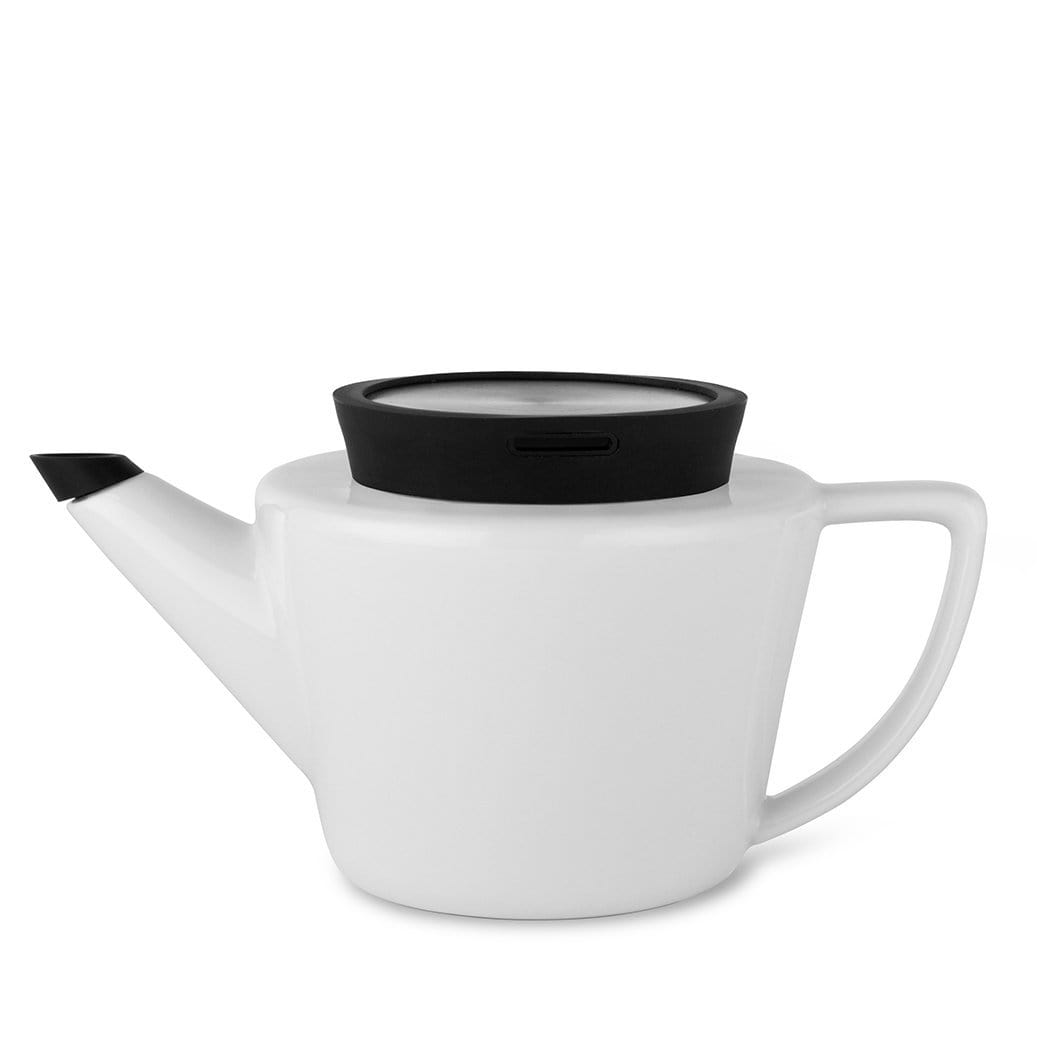 Infusion™ Porcelain Teapot Small-VIVA Scandinavia | Color=Black