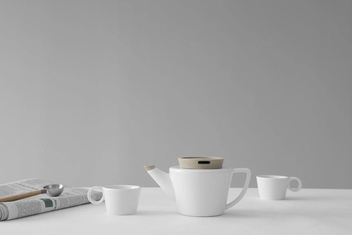 Infusion™ Porcelain Teapot Small-VIVA Scandinavia | Color=Buttermilk