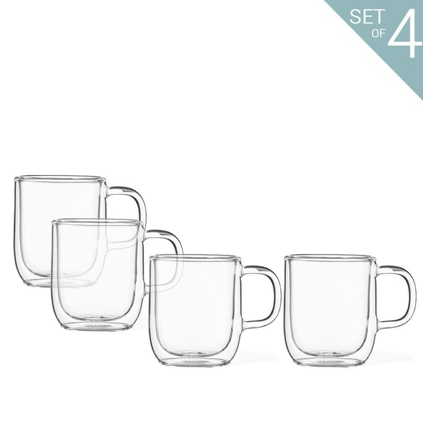 Classic™ Double Wall Mug - Set Of 4-VIVA Scandinavia