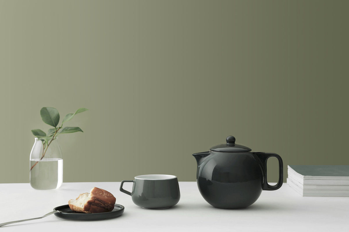 Jaimi™ Porcelain Teapot Large - VIVA | Color=Forest pine