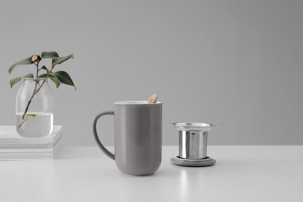 Minima™ Balance Tea Mug - VIVA | Color=wool grey