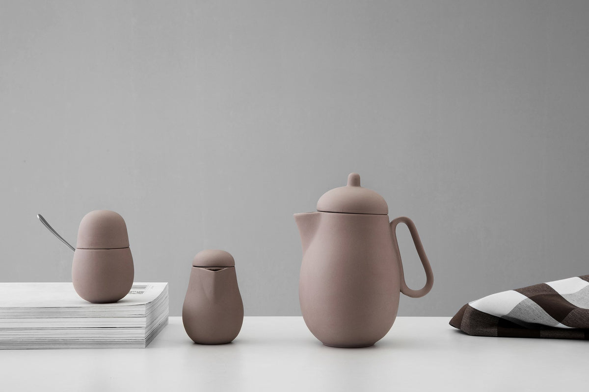 Nina™ Teapot - VIVANina™ Teapot - VIVA | Color=powder brown