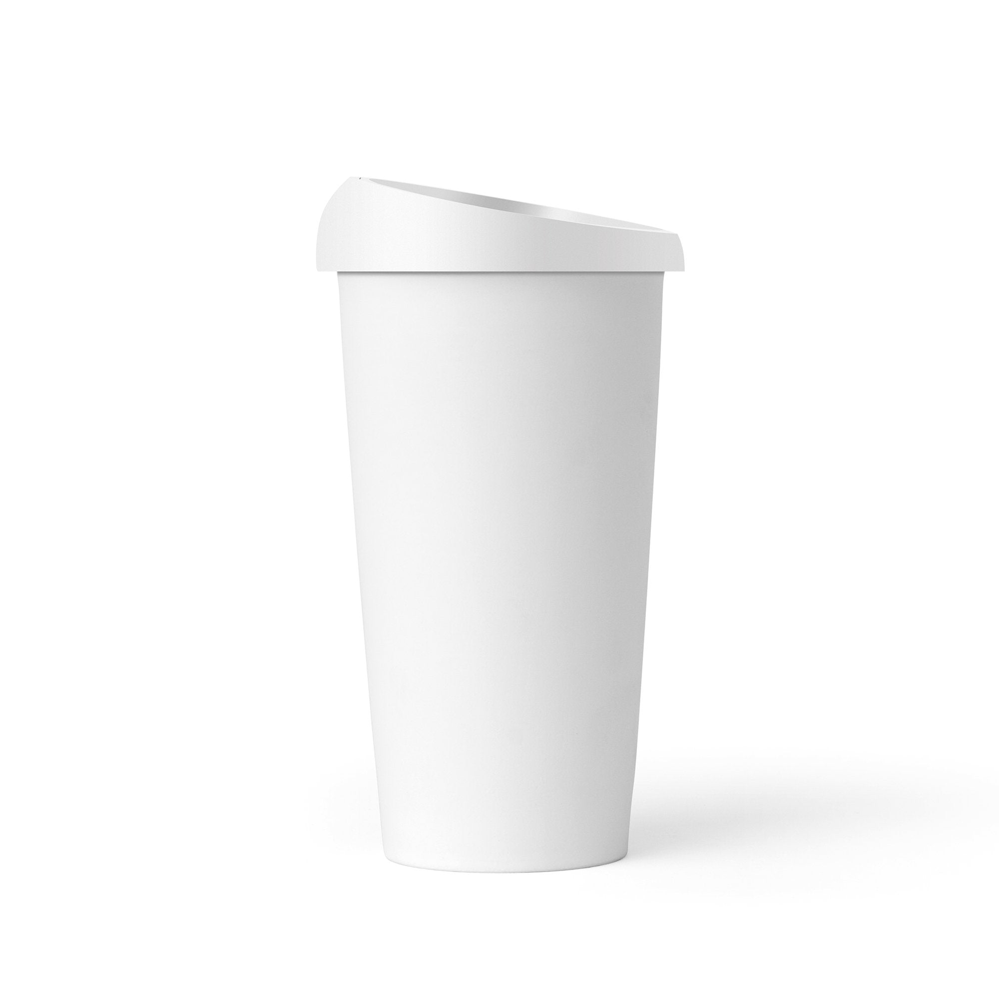 ANYTIME™ Emma Cup With Lid | Color=Pure white