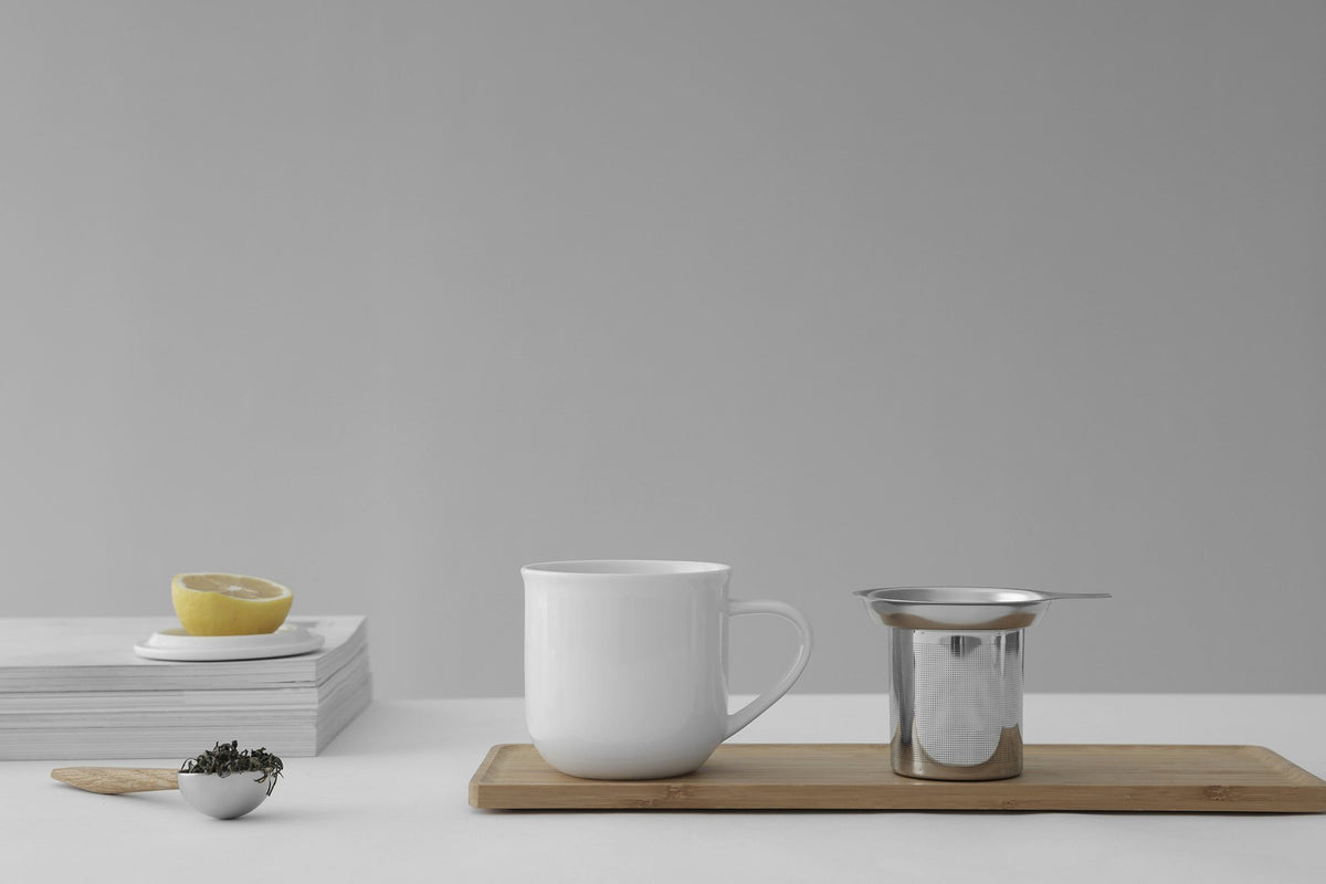 Minima ™ Eva Infuser Mug - VIVA | Color=pure white