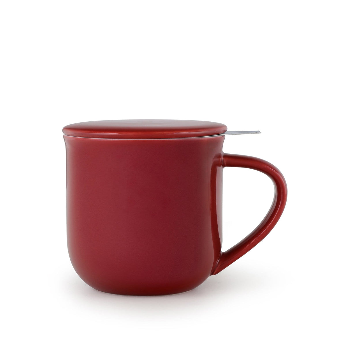 Minima ™ Eva Infuser Mug - VIVA | Color=cranberry