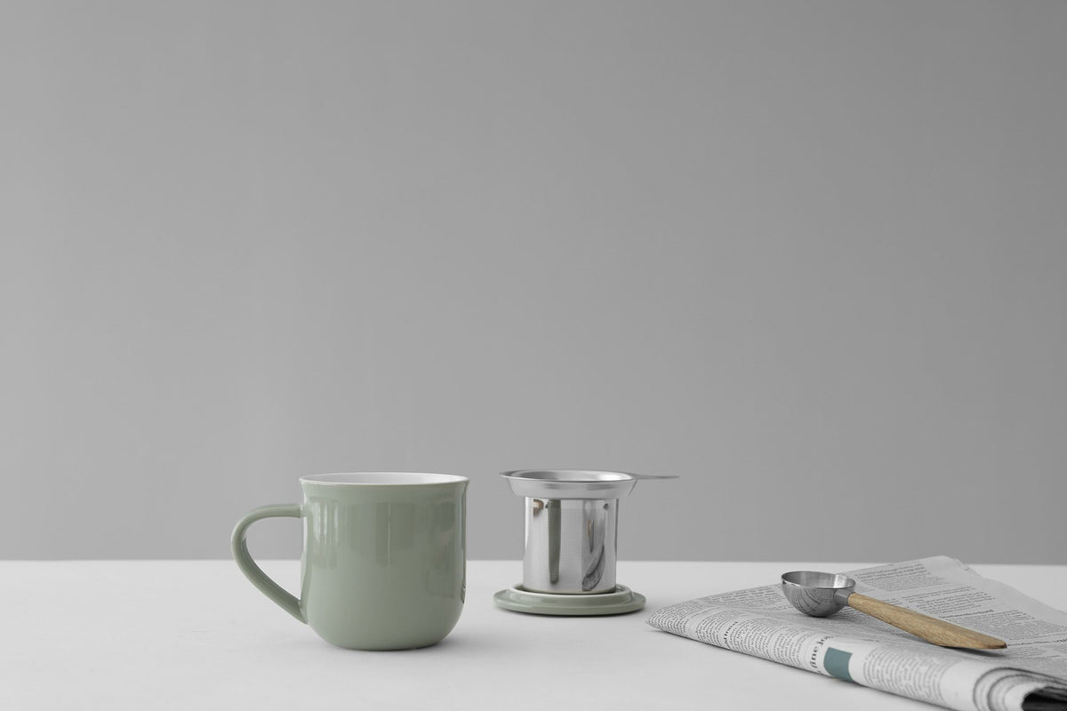 Minima ™ Eva Infuser Mug - VIVA | Color=stone green
