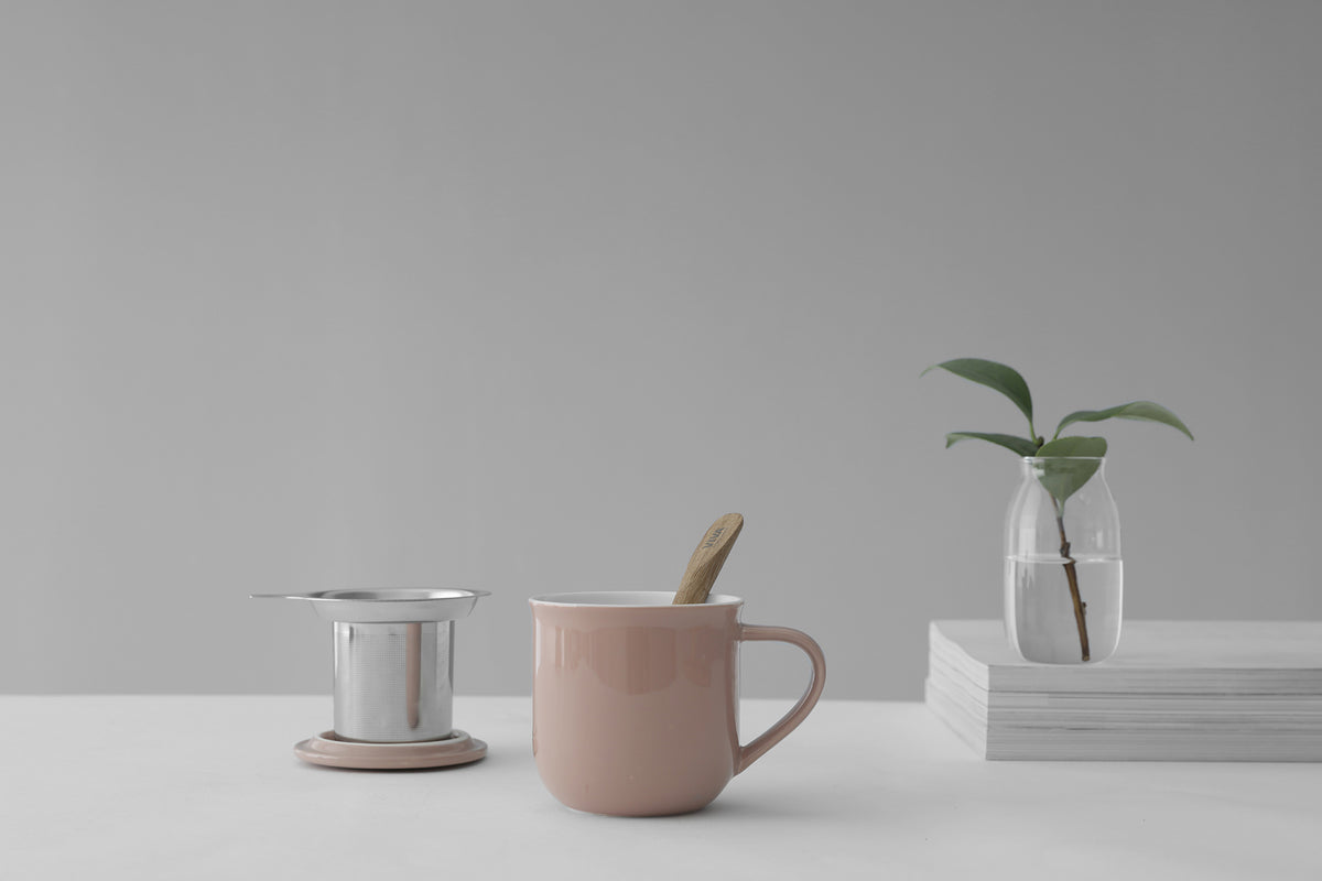 Minima ™ Eva Infuser Mug - VIVA | Color=stone rose