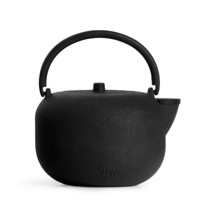 Saga™ Cast Iron Teapot - VIVA | Color=Black