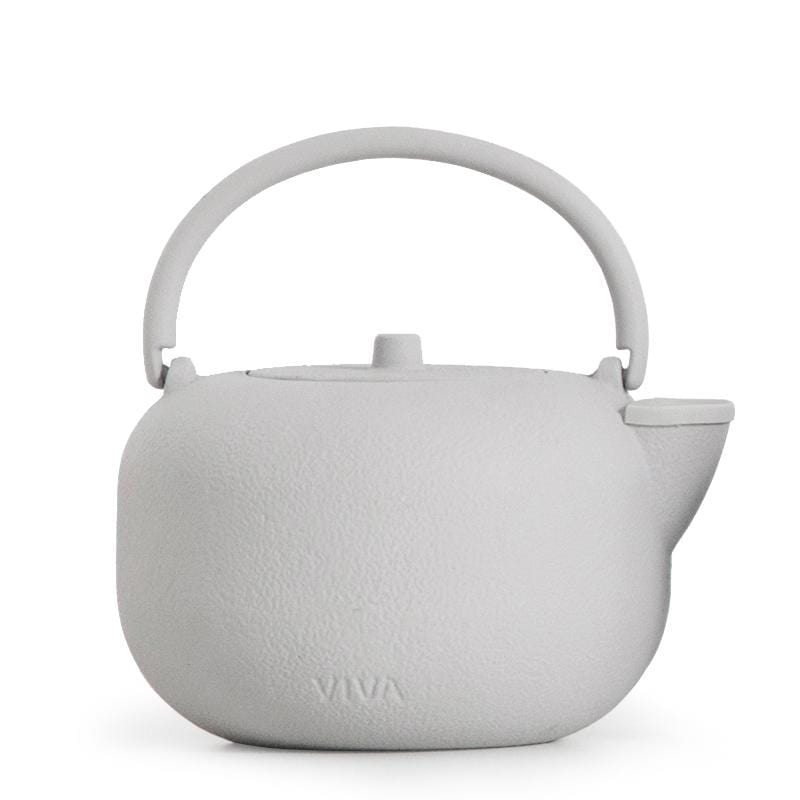 Saga™ Cast Iron Teapot - VIVA | Color=Grey