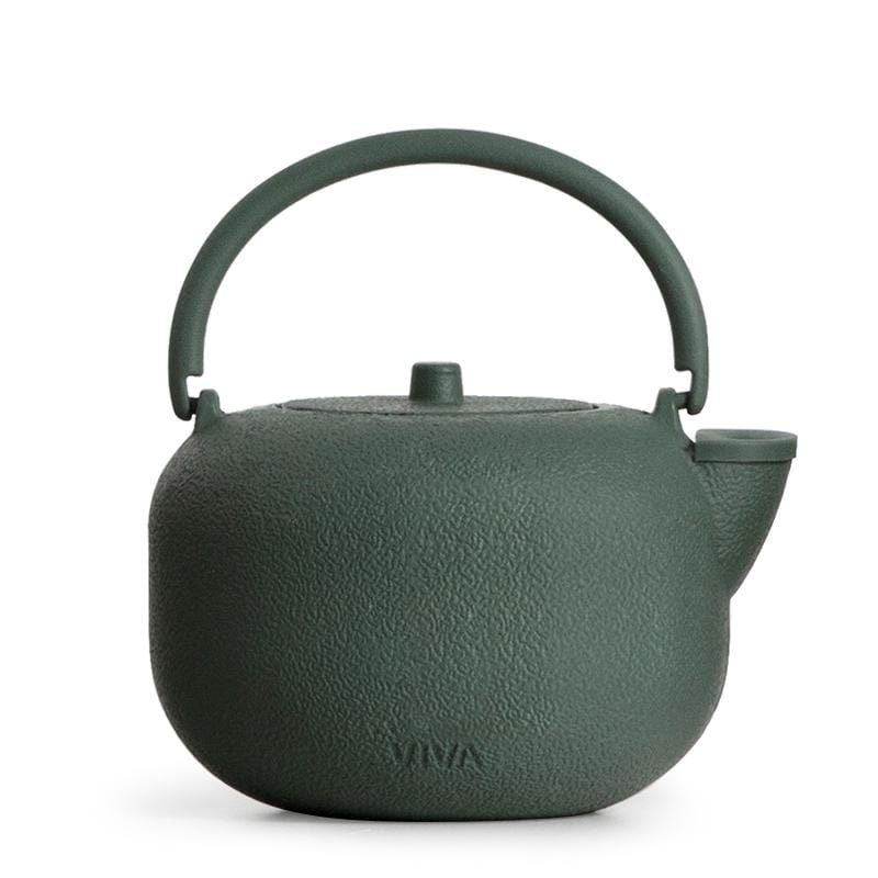 Saga™ Cast Iron Teapot - VIVA | Color=Pine Green
