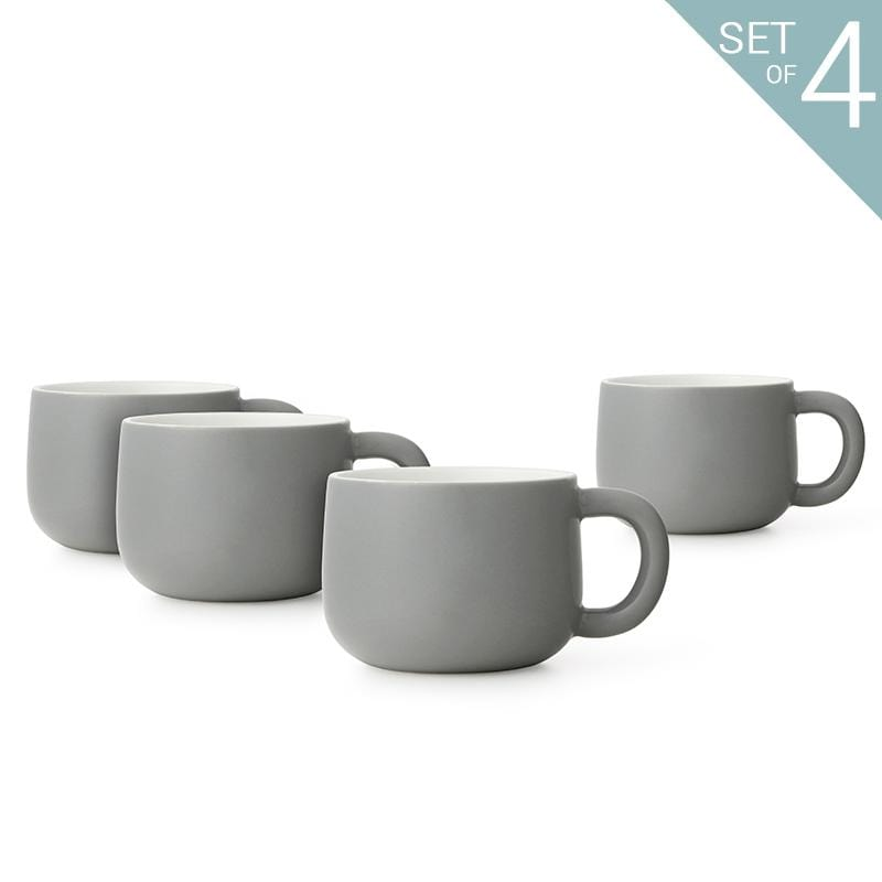 Isabella™ Tea Cup - Set Of 4 - VIVA | Color=white