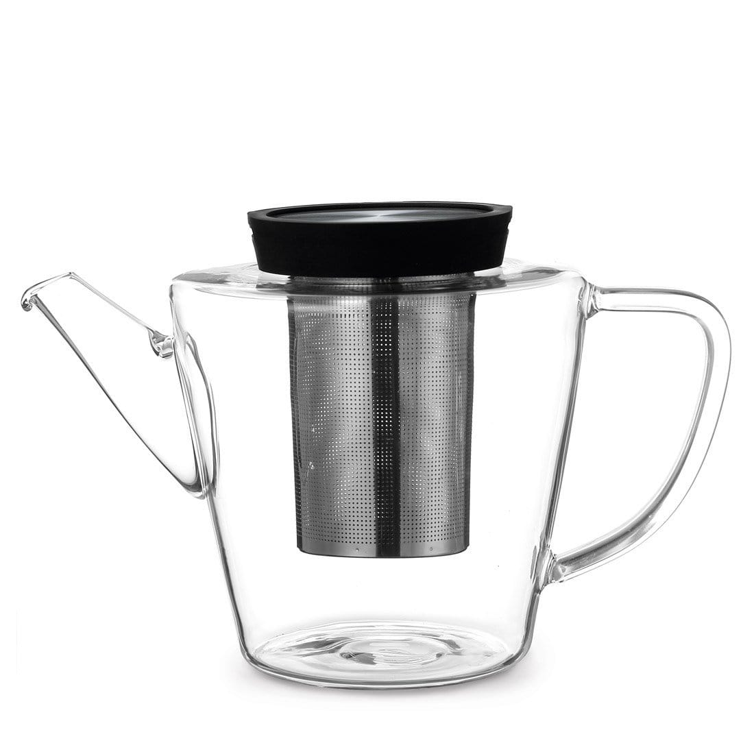 Infusion™ Glass Teapot - VIVA | Color=Black