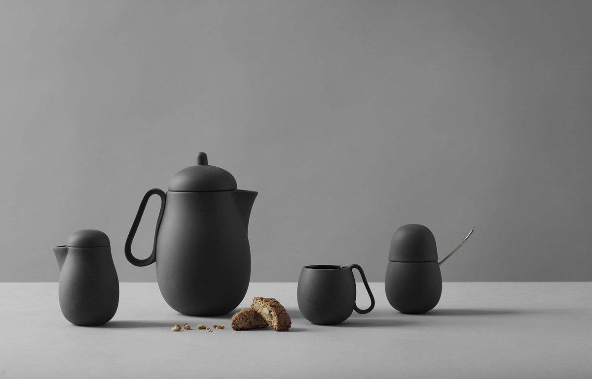 Nina™ Tea Set - VIVA | Color=Charcoal
