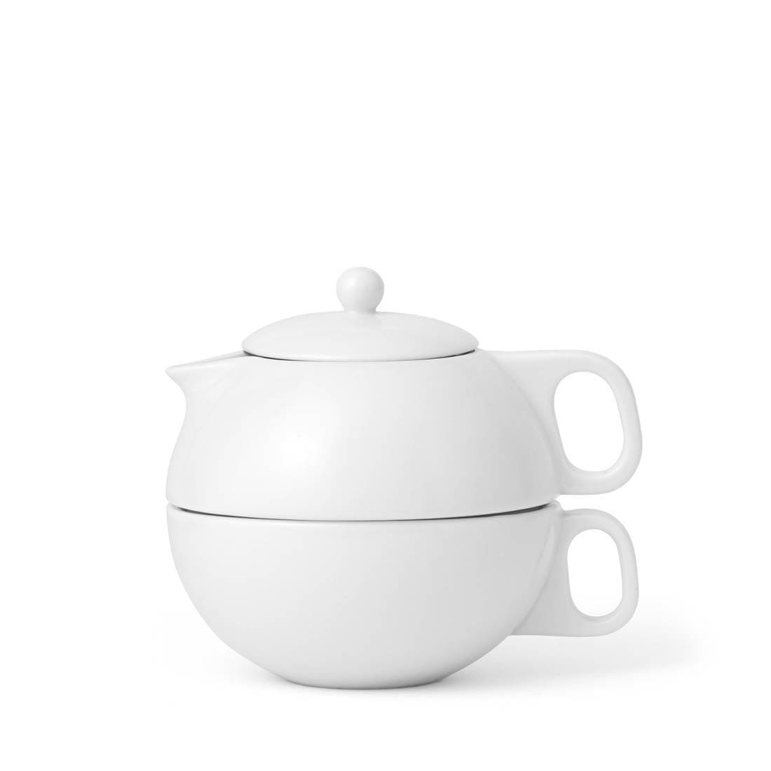 Jaimi™ Tea For One - VIVA | Color=Pure white