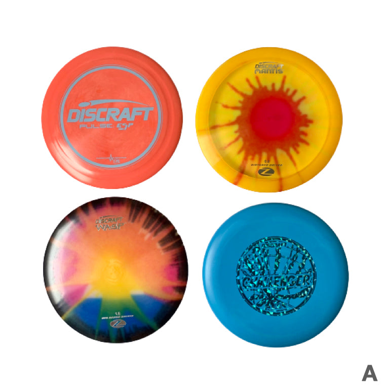 Deluxe discgolf disc set | Pancit Sports Singapore