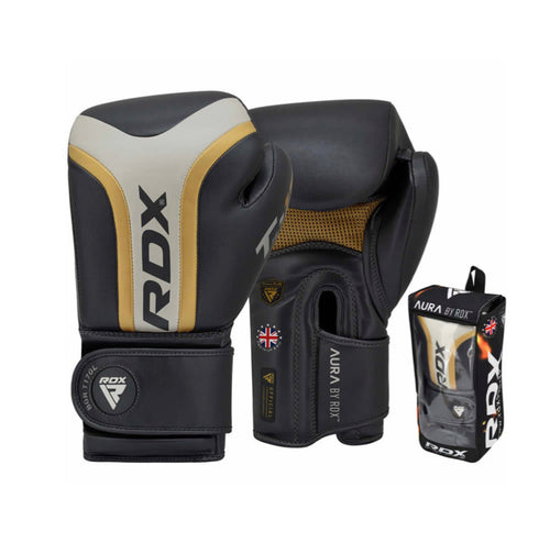 RDX MMA Leather Gloves Singapore | Pancit Sports Fairtex