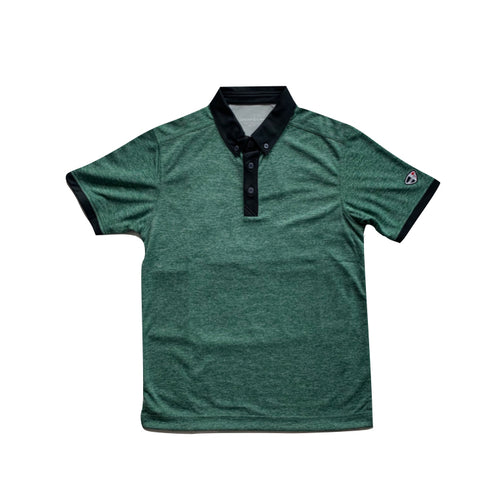 Green Crestlink Golf Polo Tee
