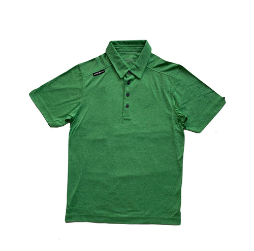 Spring Green Crestlink Golf Polo Tee
