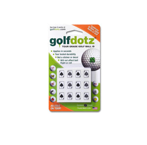 Golfdotz ball marker - Singapore golf sports Pancit Sports