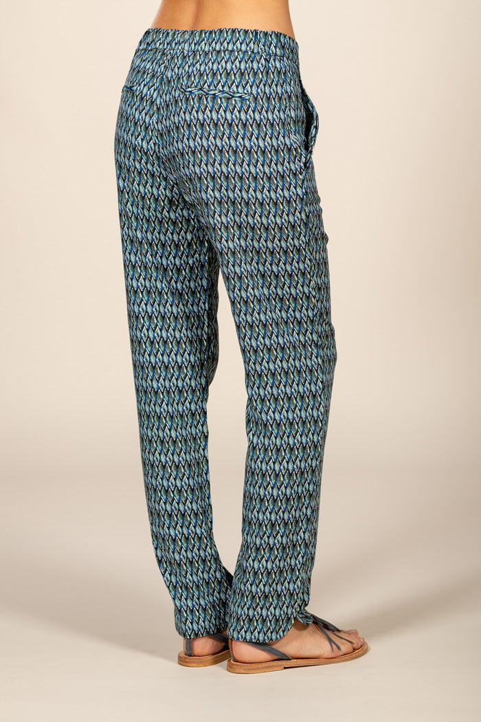 NELLY FLUID PANT  - AZUR