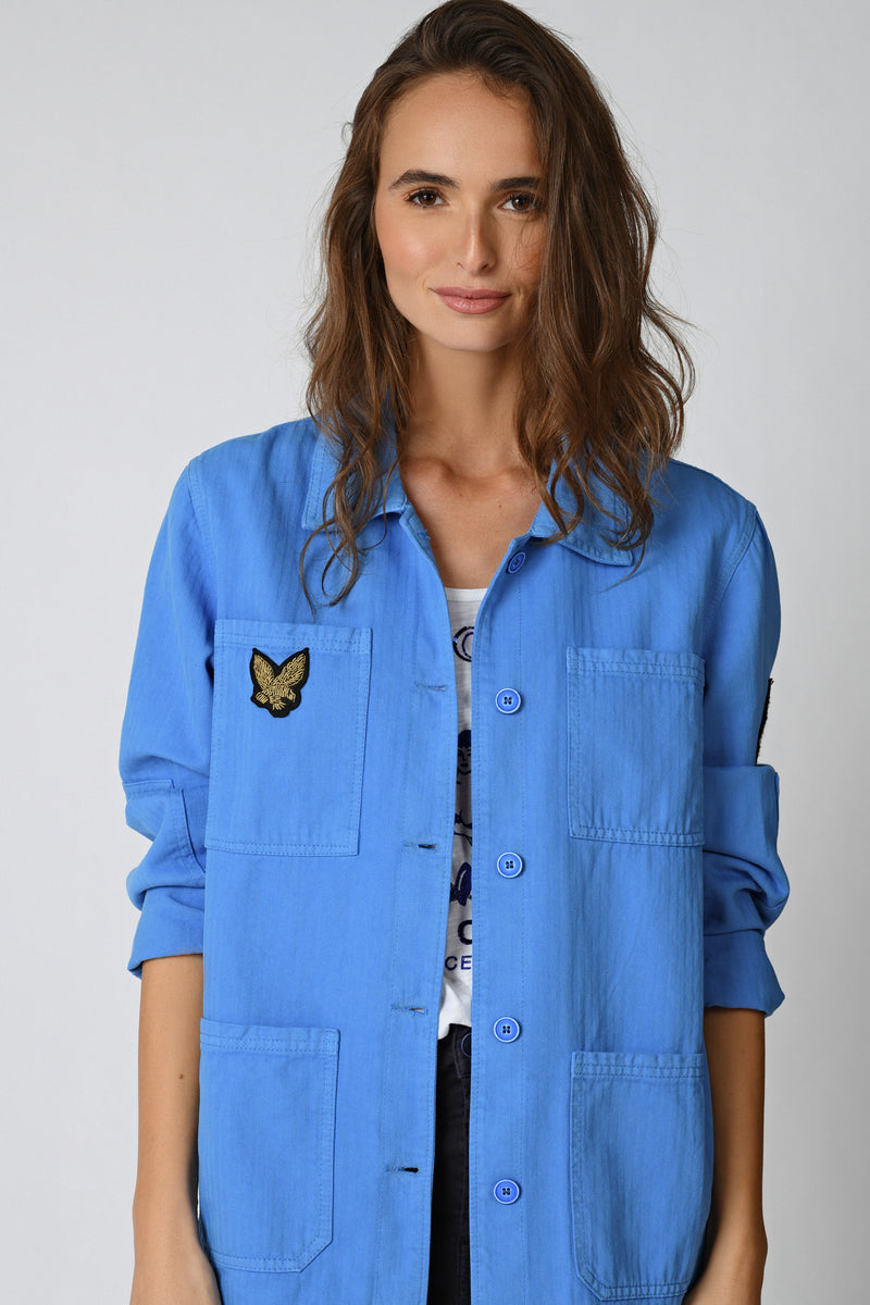 VESTE VAL  - FRENCH BLUE