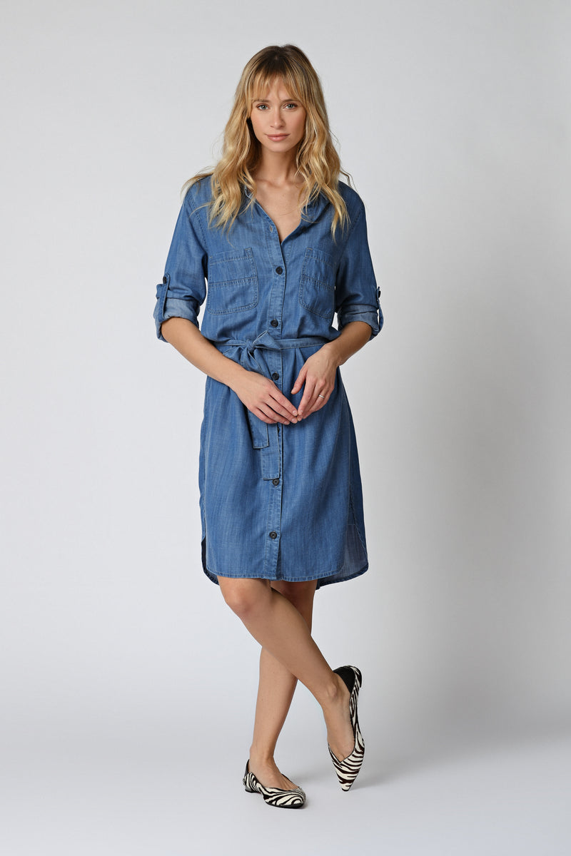ROBE AKILA - BLUE